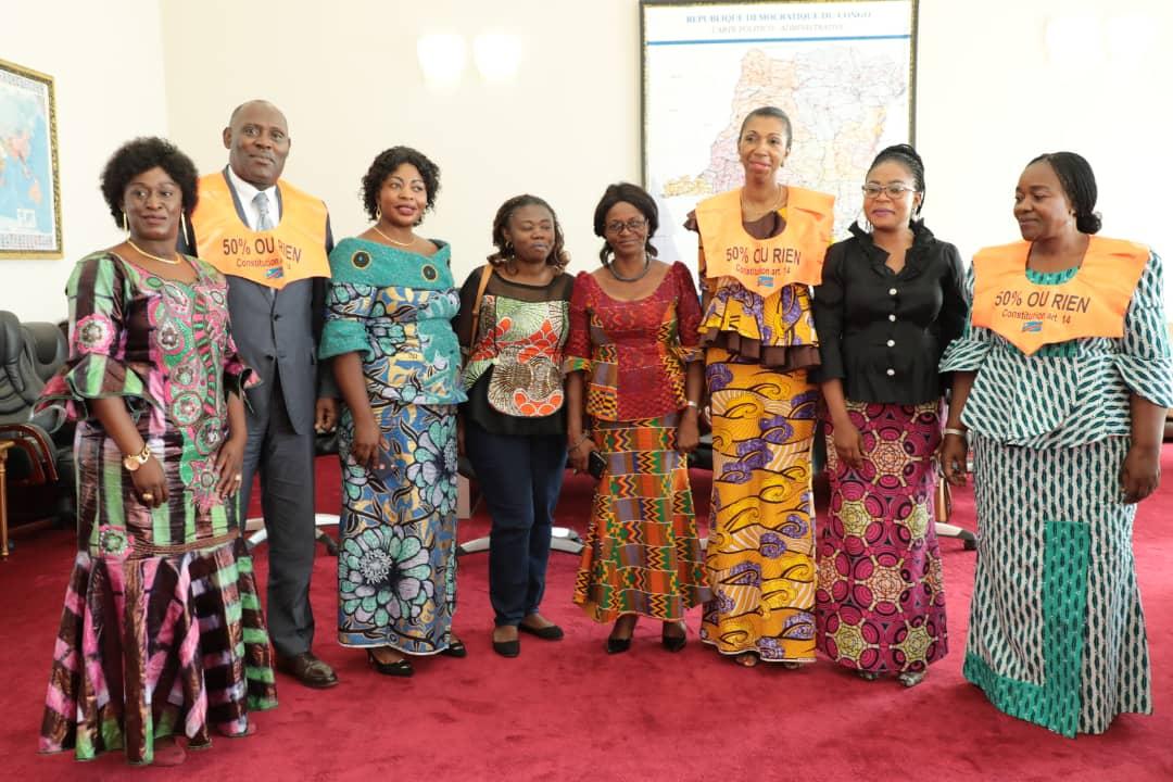 RDC : futur gouvernement, la dynamique «50% de femmes ou rien» exige la parité ! 1