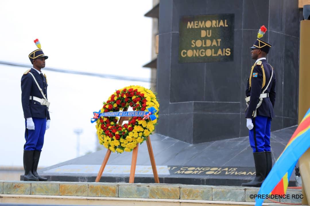 RDC : le chef de l'Etat remet des allocations de fin de carrière à 267 soldats 1