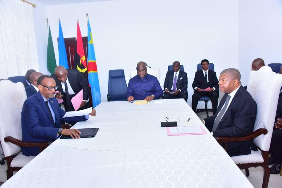 RDC: tripartite Tshisekedi-Kagame-Lorenço, des questions économiques à l'ordre du jour 1