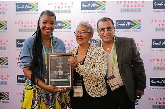 Durban : Tam-Tam Guide RDC reçoit le prix «argent» du South african tourism 1
