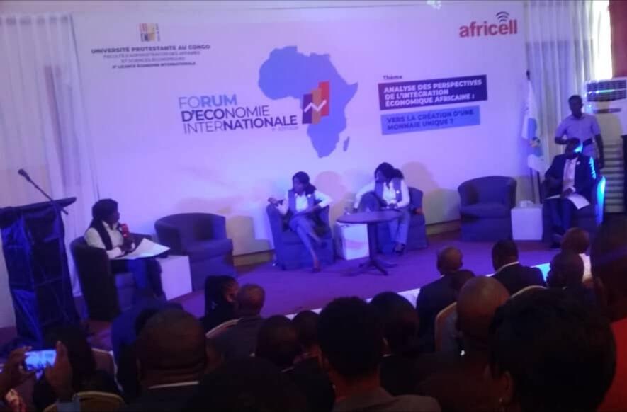 RDC : 8ème édition du Forum d'économie internationale a vécu à l'Université protestante 1