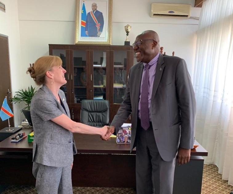 RDC-USA: Melanie Higgins boucle son séjour de consolidation des relations bilatérales 1