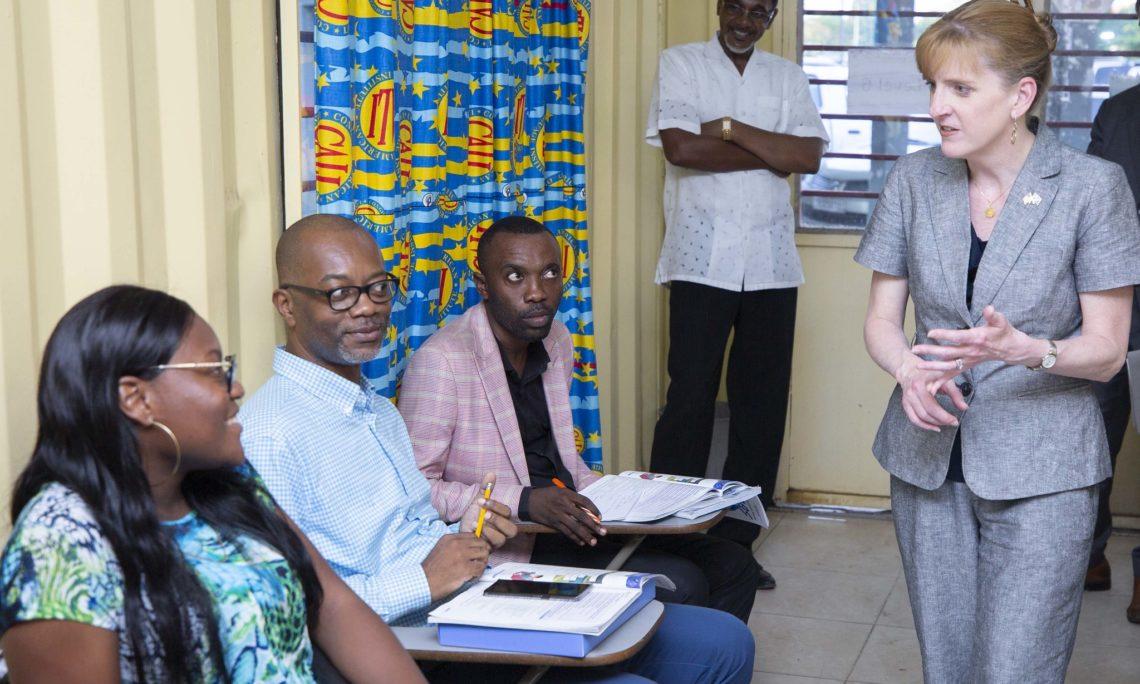 RDC-USA: Melanie Higgins boucle son séjour de consolidation des relations bilatérales 2