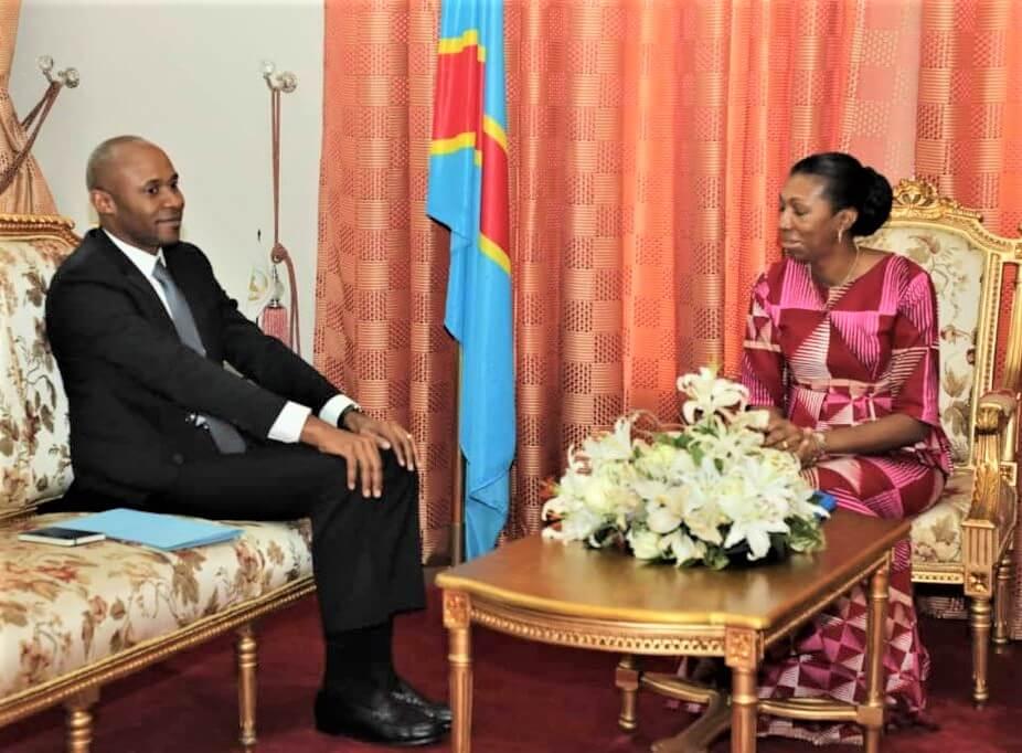 RDC : Patrick Muyaya plaide pour la revitalisation du Réseau de jeunes parlementaires ! 1