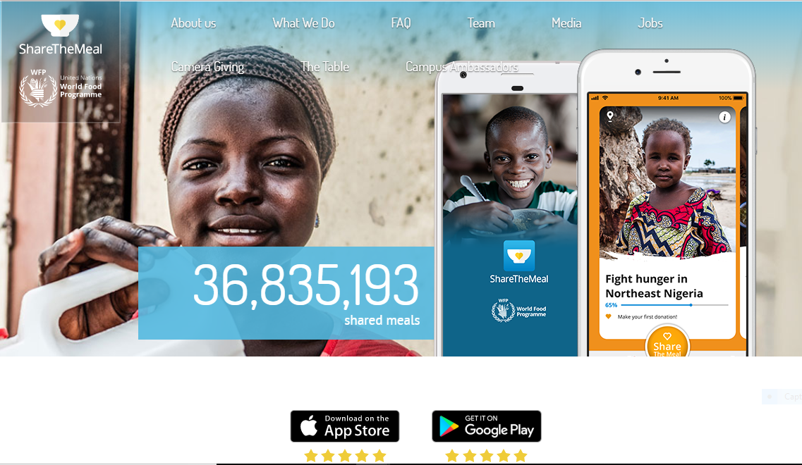 Congo: PAM lance la campagne virtuelle «Share the Meal» 1