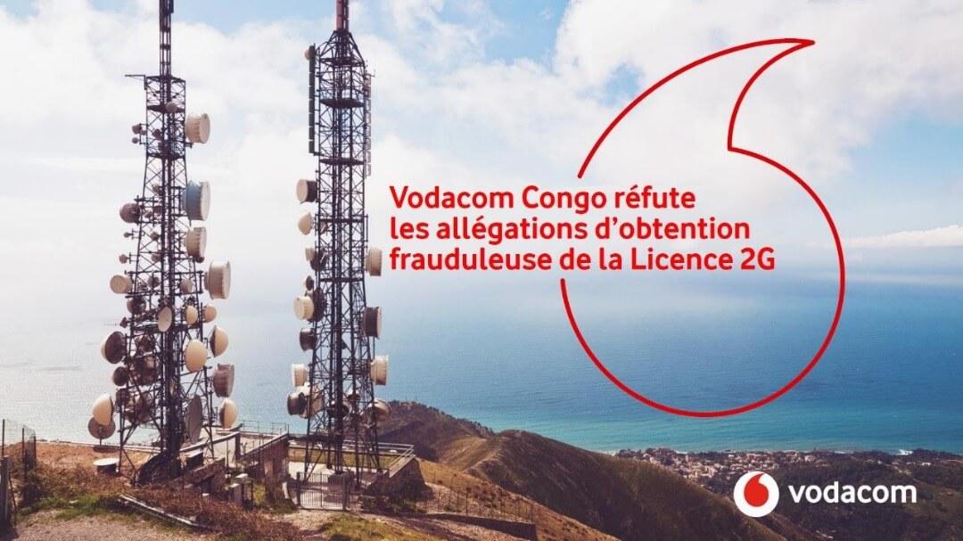 RDC : Vodacom rejette les allégations d'obtention frauduleuse de sa Licence 2G 1