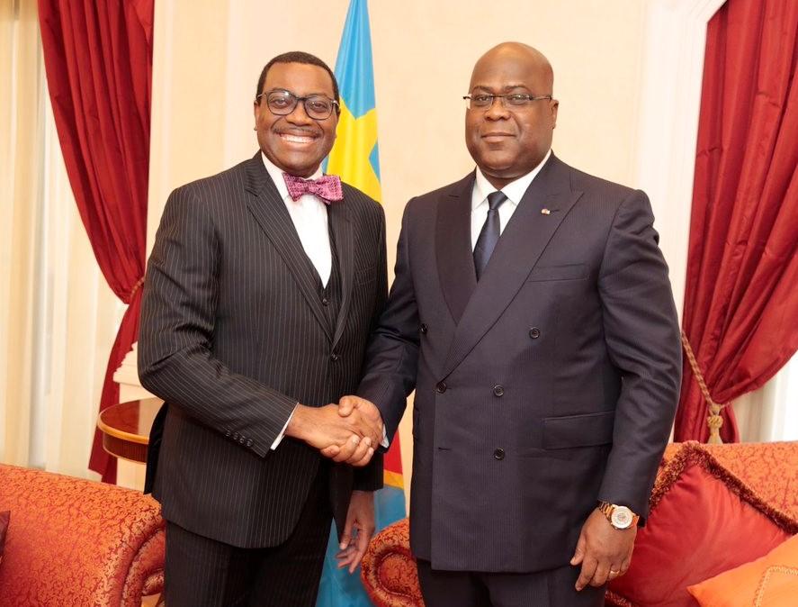 RDC : Adesina attendu ce lundi à Kinshasa pour solidifier le partenariat de la BAD 1