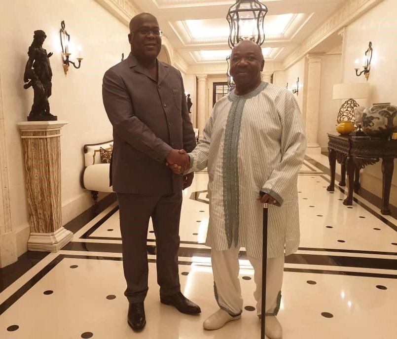 RDC : les deux raisons de la visite éclaire de Félix Tshisekedi au Gabon 1