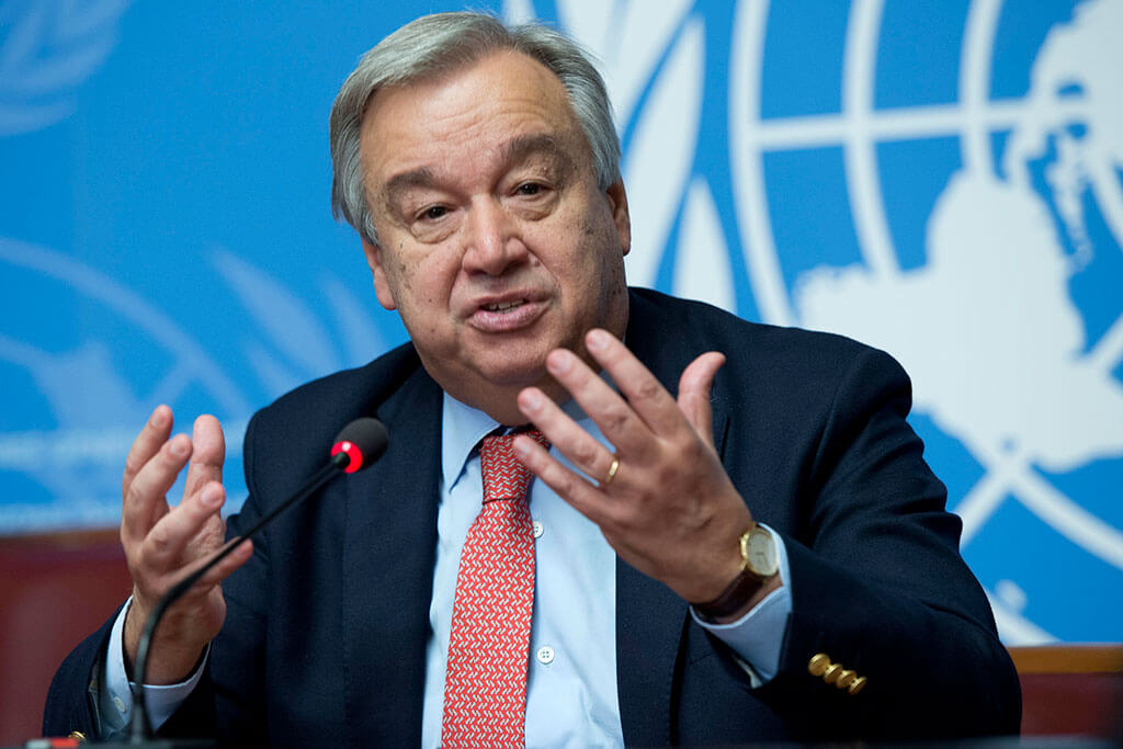 Monde : Antonio Guterres encourage à plus d'actions pour lutter contre la pollution de l'air ! 1
