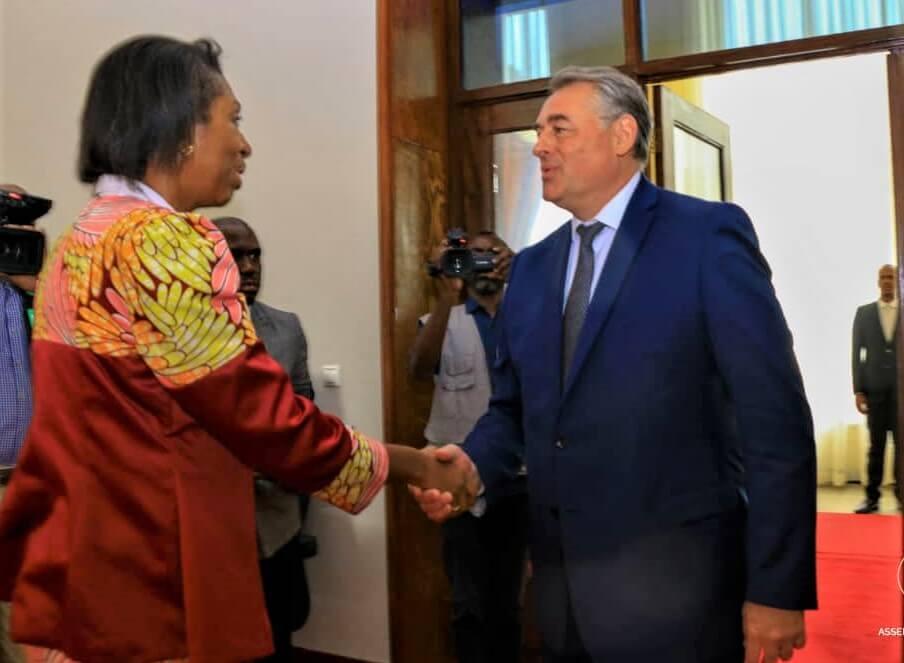 RDC : Mabunda-Pujolas, pour la redynamisation de la diplomatie parlementaire franco-congolaise 1