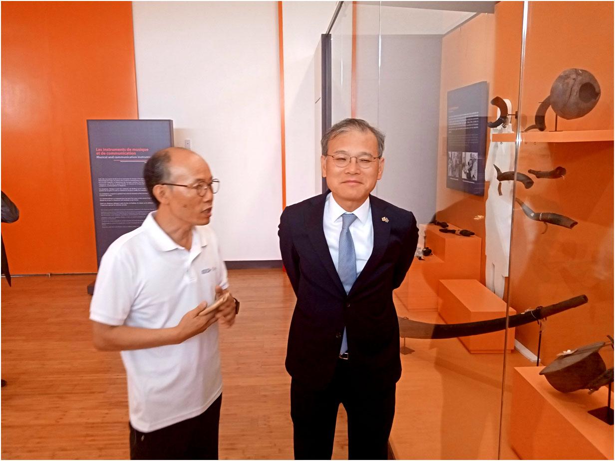 RDC: vers la réception du nouveau musée national financé à 21 millions USD par KOICA  1