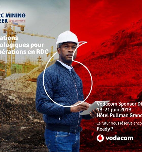 DRC Mining Week : Vodacom, le sponsor WIFI présente ses meilleures innovations technologiques 1