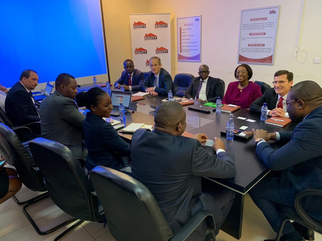 RDC : Equity Bank renforce son partenariat avec VISA inc. 1