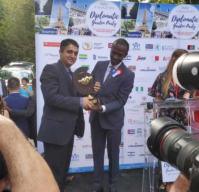 France : l'ANAPI a représenté la RDC au Dilplomatic Gardien Party ! 1