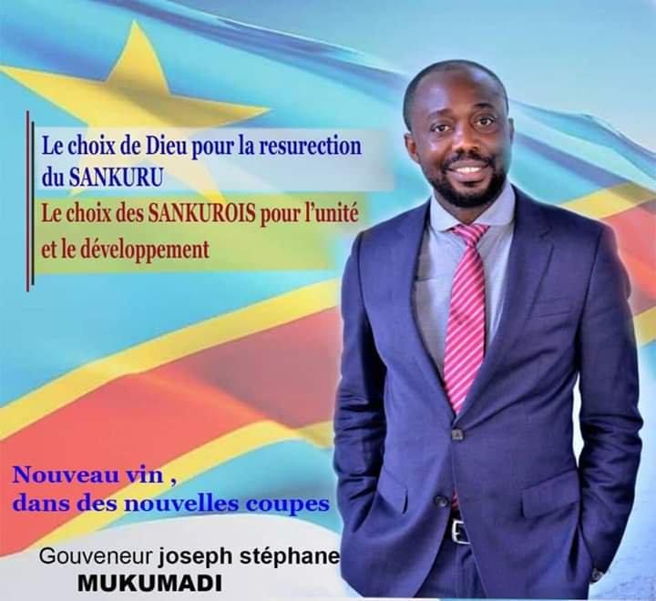 RDC : Joseph-Stéphane Mukumadi élu gouverneur du Sankuru 1