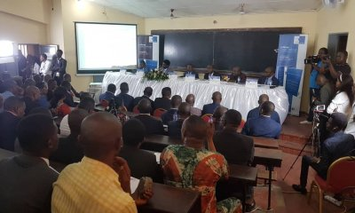 RDC : vernissage du premier numéro de la Revue scientifique Congo Challenge 41