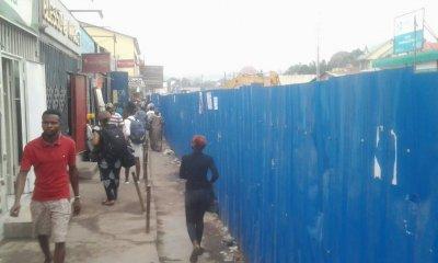 Kinshasa : les travaux du saut-de-mouton perturbent des activités économiques à Pompage 20