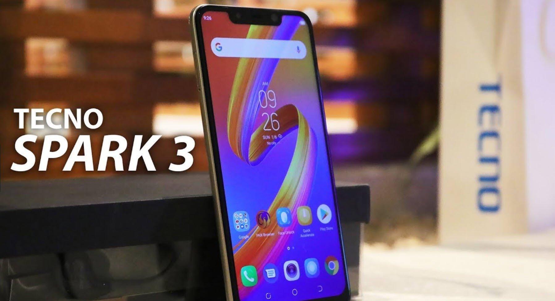 Afrique : Tecno Spark 3, le smartphone haut de gamme de 2019 (AITTA) 1