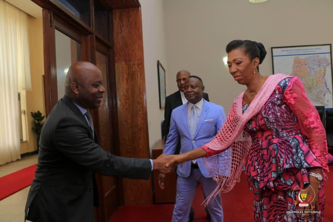 RDC : Alain Kaninda et Jeanine Mabunda échangent sur le marché des assurances libéralisé ! 1