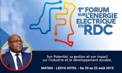RDC : le premier Forum sur l'énergie électrique se tient à Matadi 98
