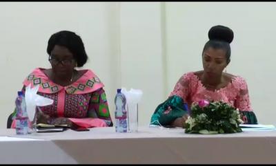RDC: Jeanine Mabunda a échangé avec les leaders religieux!