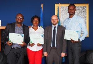RDC : cinq green-journalistes primés au concours Forêts ! 2