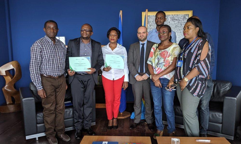 RDC : cinq green-journalistes primés au concours Forêts ! 5