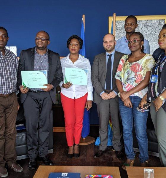 RDC : cinq green-journalistes primés au concours Forêts ! 1