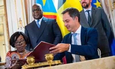 RDC - Belgique : trois lettres d'intention signées pour raffermir la coopération 44