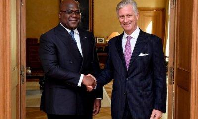 RDC - Belgique : le président Tshisekedi reçu par le roi Philippe 42