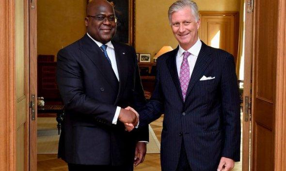 RDC - Belgique : le président Tshisekedi reçu par le roi Philippe 41