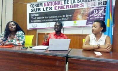 RDC : huit résolutions de la société civile pour le secteur de l'énergie électrique 49