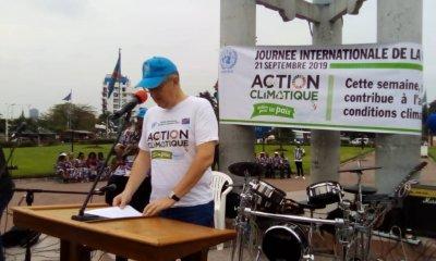 RDC : journée internationale de la paix célébrée sous le signe de changement climatique