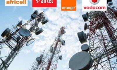 RDC : sociétés télécoms, le chiffre d'affaires augmente de 6,63% au second trimestre 55