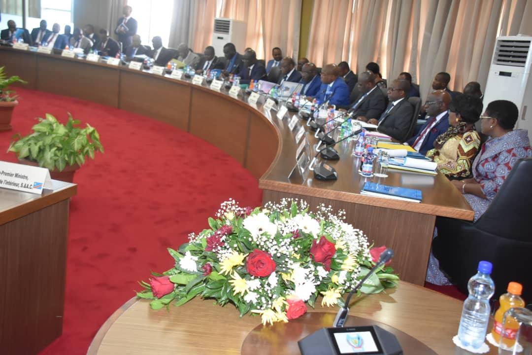 RDC : Budget 2020, Tshisekedi tient une réunion du Conseil des ministres extraordinaire 1