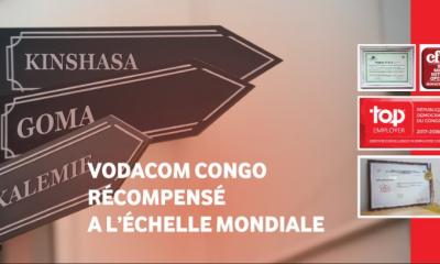 RDC : Vodacom récompensée plusieurs fois à l'échelle mondiale 90