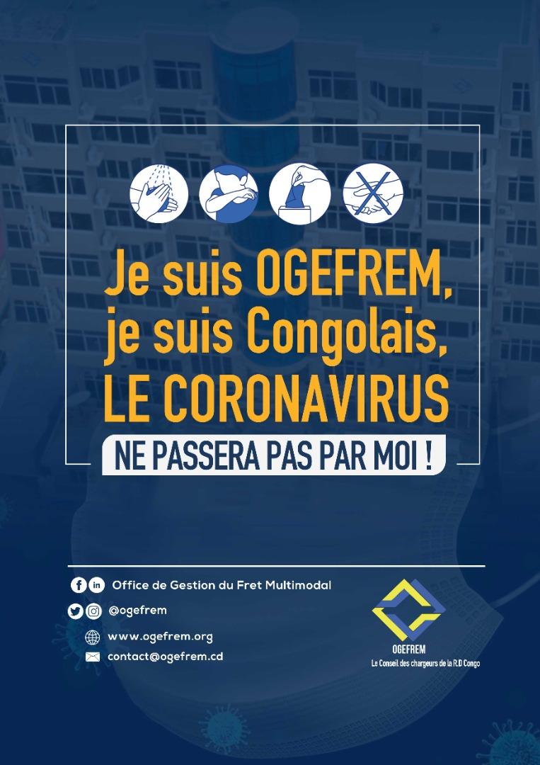 RDC : le DG de l'Ogefrem invite ses agents à un strict respect de mesures contre le Coronavirus !