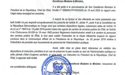 RDC : de couac en couac, un mauvais signal ! 3