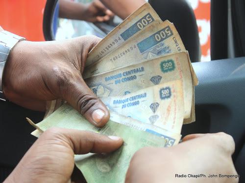 RDC : le franc congolais a perdu 6,76% de sa valeur sur le segment parallèle 1