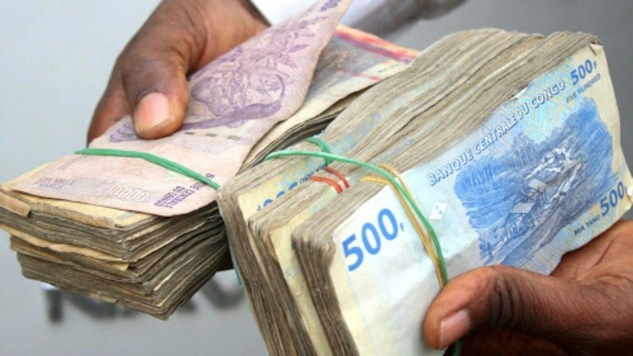 RDC : le franc congolais s'est apprécié de 2,3% face au dollar à fin mai 2020 (raisons) 1