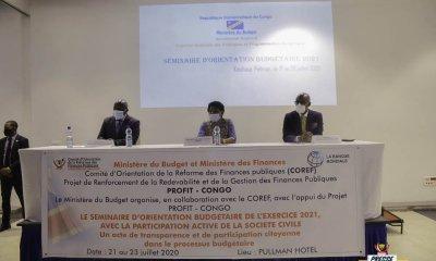 RDC : lancement des consultations Pré-budgétaires pour l'exercice 2021 à 2023 !