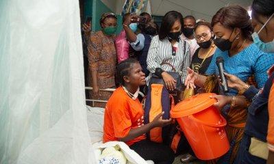 RDC : la première dame vole au secours des femmes et leurs bébés à la maternité de Don Bosco ! 16