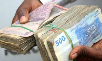 RDC : le franc congolais s'apprécie sur le marché de change avec 0,39%!
