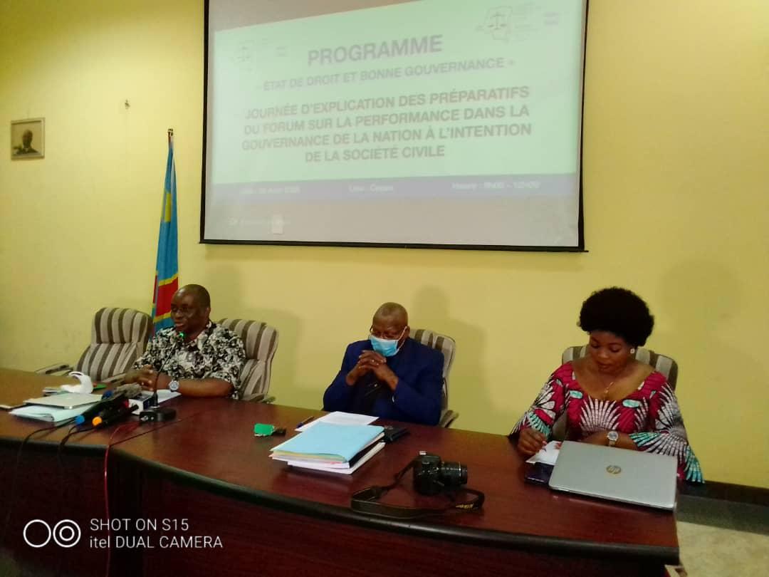 RDC : ACAJ se prépare à un forum de vérité sur l'état de droit et la bonne gouvernance 3