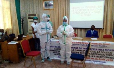 RDC : cinq demandes formulées au gouvernement pour protéger le personnel de santé! 5