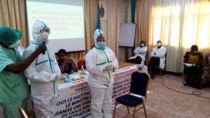RDC : cinq demandes formulées au gouvernement pour protéger le personnel de santé!