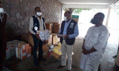 RDC : COVID-19, l'OMS fait un don des matériels de riposte au Laboratoire Vétérinaire Central!