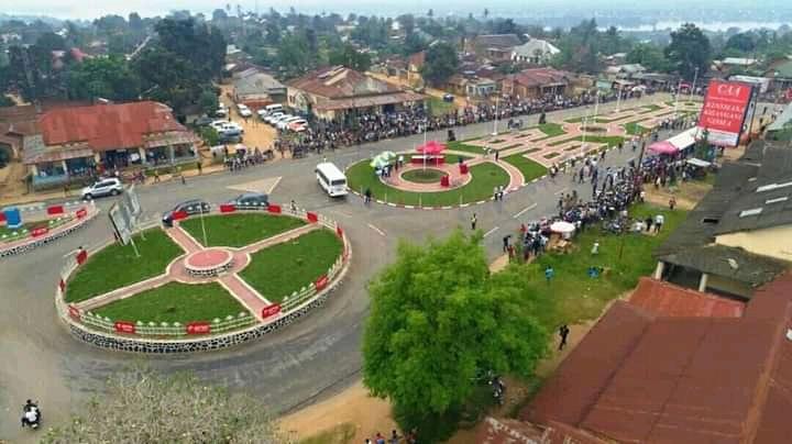RDC: la ville de Kindu fait peau neuve avec l'aménagement de la place «Matata Ponyo Mapon» 1