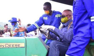 RDC :Jean Maweja lance la campagne agricole à Katanda! 7
