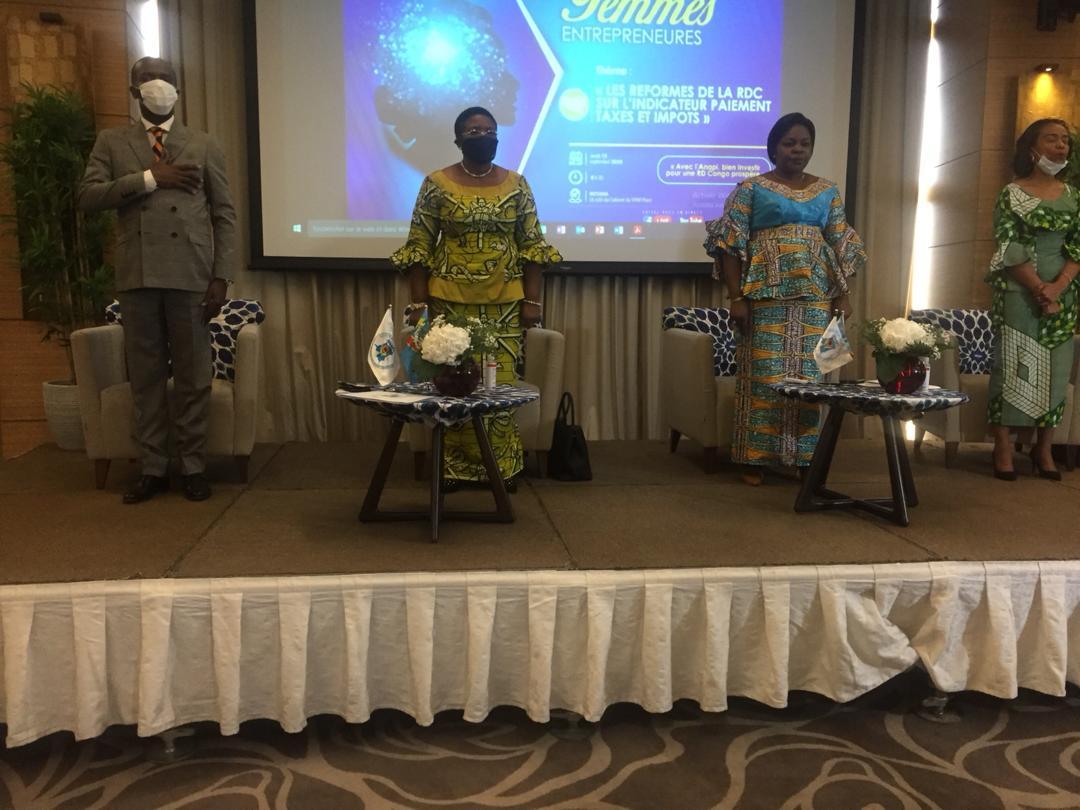 RDC : Anapi sensibilise les femmes entrepreneures aux réformes opérées sur l'indicateur Paiement taxes et impôts! 3